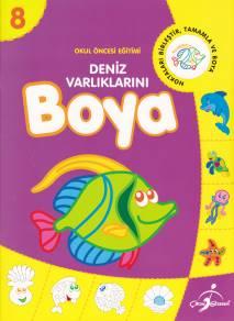Okul öncesi Eğitimi 8 Deniz Varlıklarını Boyabasari Dagitim