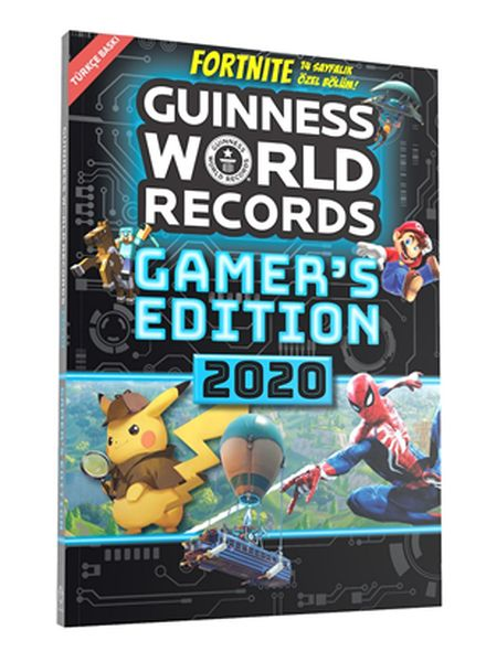 Guinness World Records Gamers Edition 2020 Türkçe Mike Plant