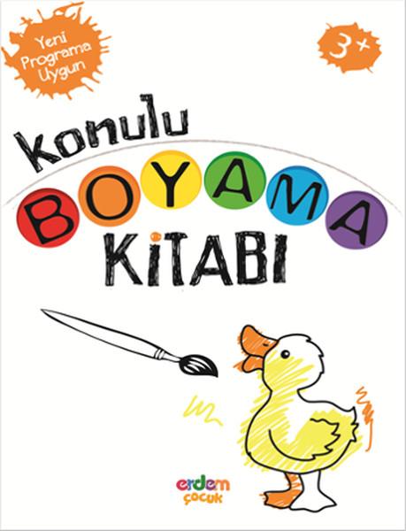 Konulu Boyama Kitabı 3 Yaşbasari Dagitim