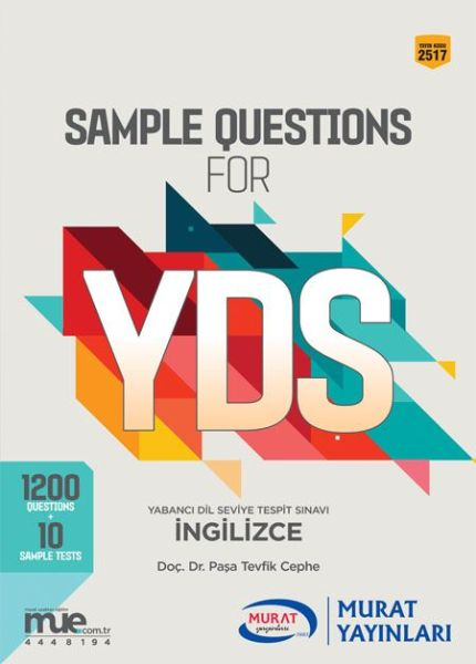 Murat YDS Sample Questions For